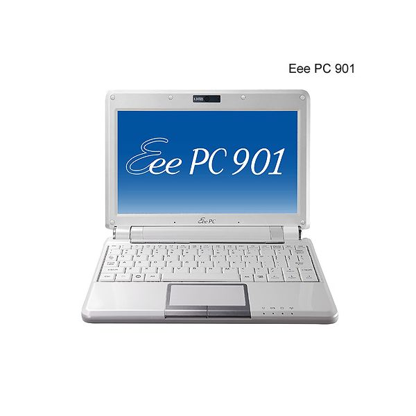 Laptops like this Asus Eee PC are better for content creation than cell phones.