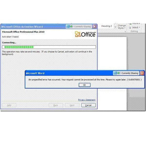 activation code for ms office 2010 professional plus