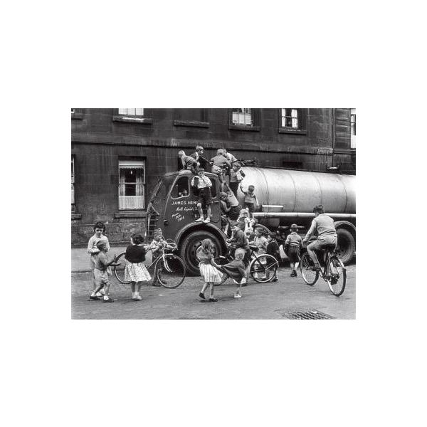 Children Playing on the Street by Roger Mayne