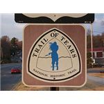 Trail of Tears Road Sign, Wikipedia