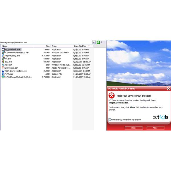 Free Real-time Protection of PC Tools Antivirus Free