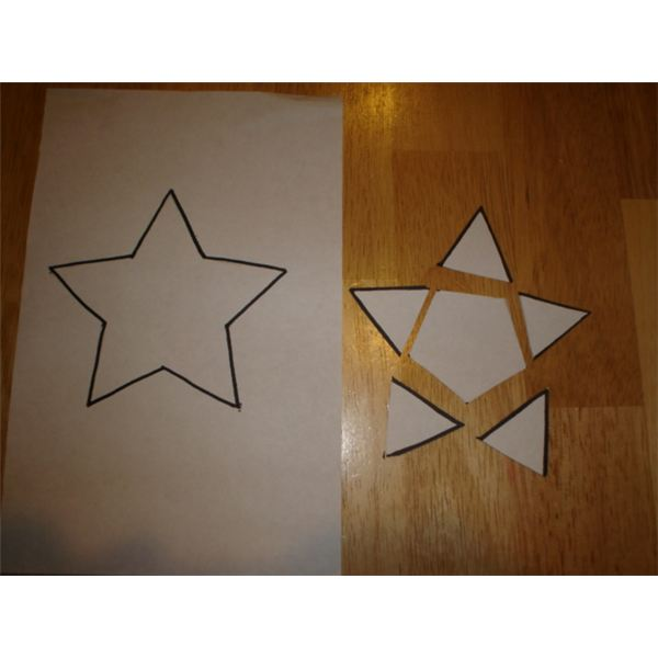 Star Shape Puzzle
