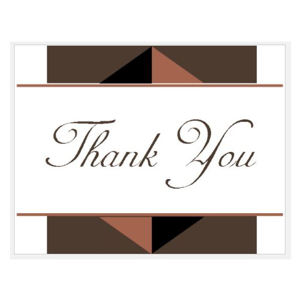 Design and print your own thank you cards with these ms publisher professional thank you spiritdancerdesigns Images