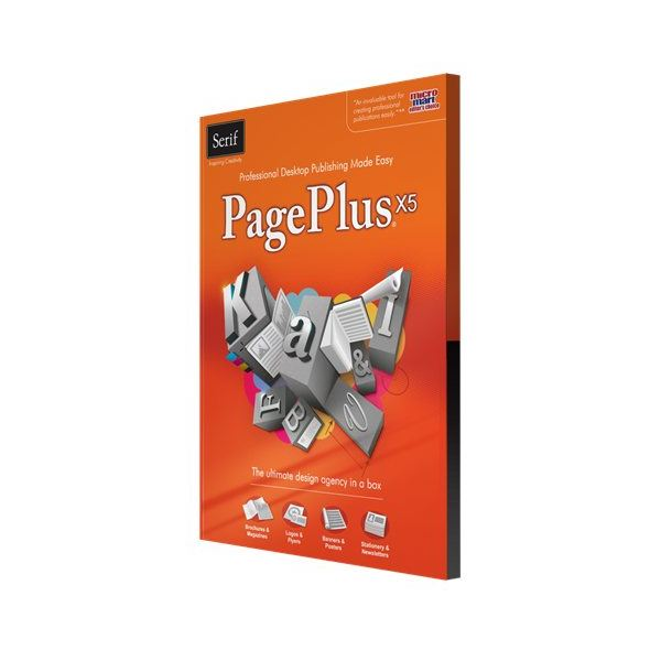 Serif PagePlus X5 Box Shot