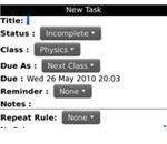 StudentDocket Screenshot