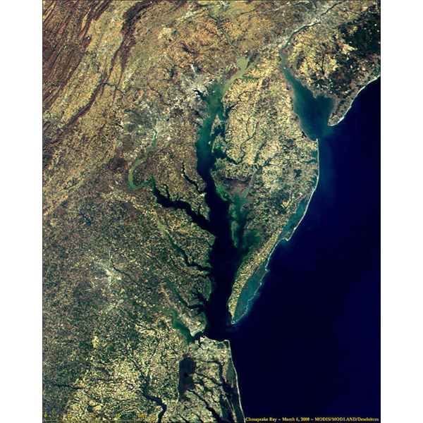 Delaware and Chesapeake Bays