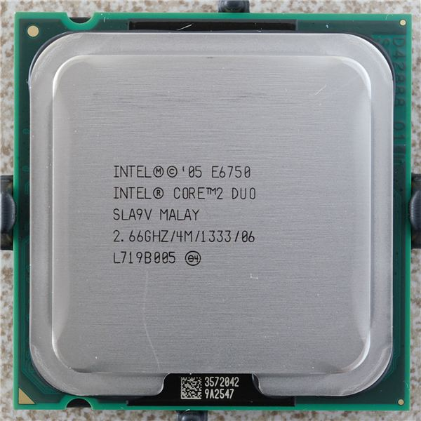 An example of a recent type of microprocessor