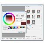 Select Background Color for Vignette