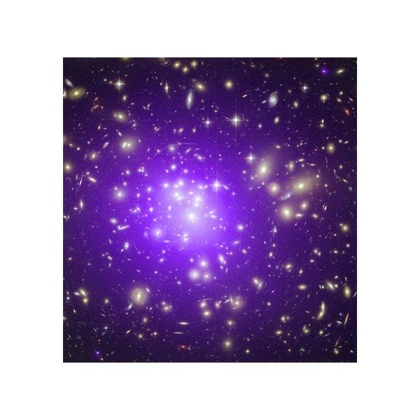 Galaxy Cluster Abell 1689, credit: Chandra