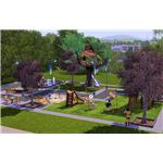 The Sims 3 Town Life park