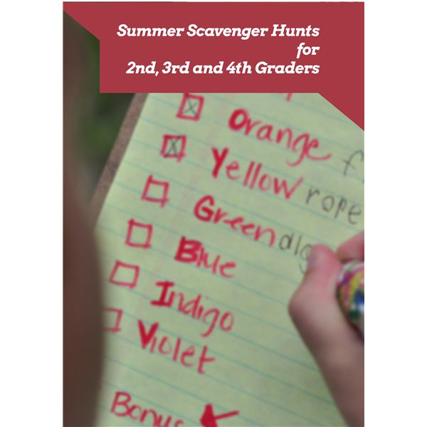 Summer Activity for Elementary Students: Scavenger Hunt Ideas and Download