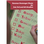 Summer Scavenger Hunts for Second Third and Fourth Graders