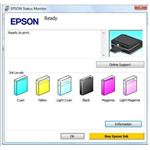 Epson Estimated Ink Levels