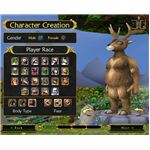Character Creation: A Portly Deer