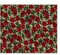 Poinsettia Floral Texture