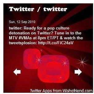 WishAFriend.com - Twitter Widget