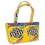 recycled m&m bag