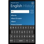 Knowledge on the Move: Windows Phone Wikipedia Search App