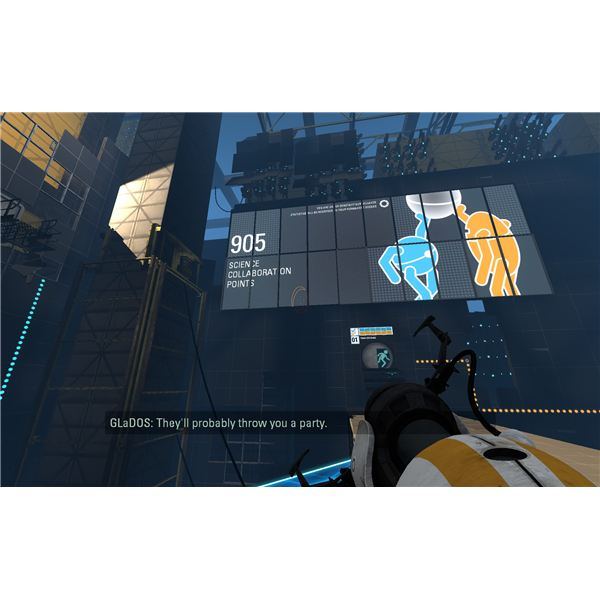 Portal 2 Co-Op - General Chamber and Stats