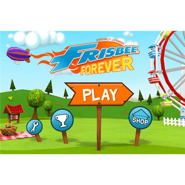 Frisbee Forever iPhone Game Review