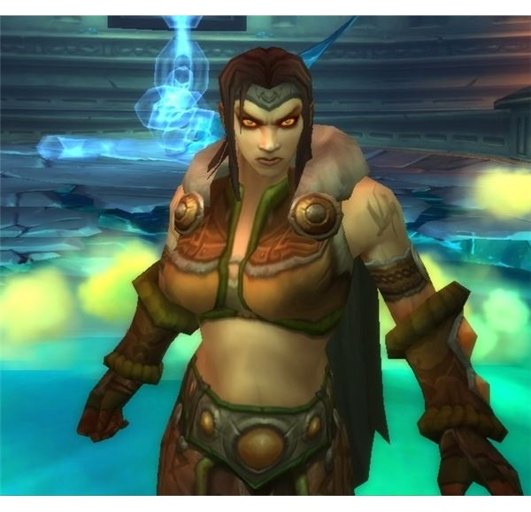 Sara continues to attack the raid during Yogg-Saron phase two