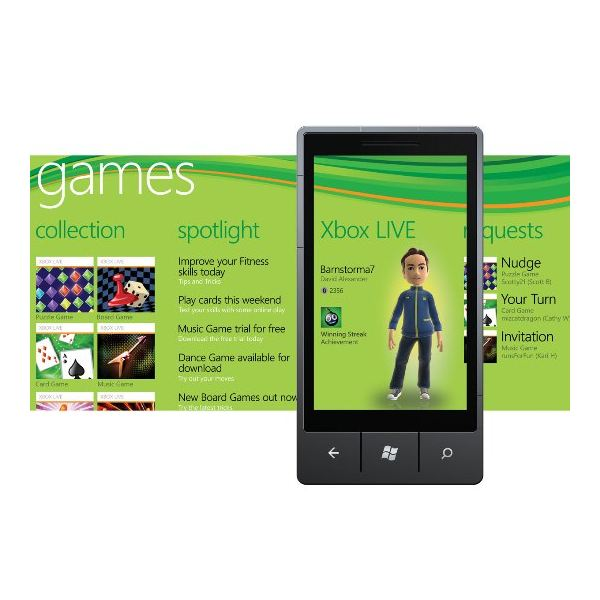 Ten Reasons to Buy Windows Phone 7 Handsets Xbox LIVE integration