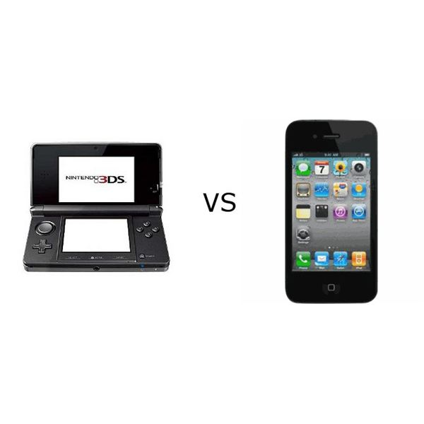 3DS vs iPhone