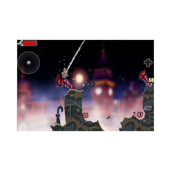 Worms features great graphics and sound