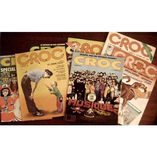 Croc magazine covers.