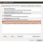 Ubuntu Firefox 4 Other Sources