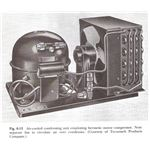 Hermetically Sealed Compressor with Condenser Unit