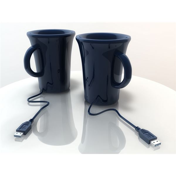 Coffee Cups With USB