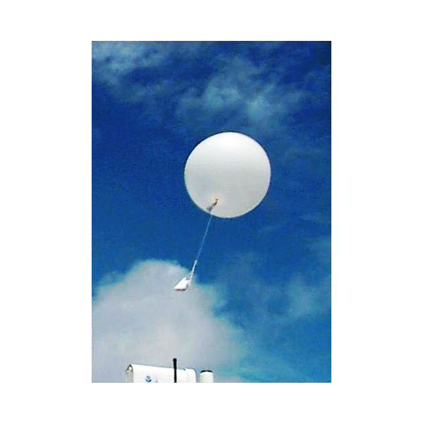 Weather Balloon with Radiosonde from Wikimedia Commons credit United States Federal Government