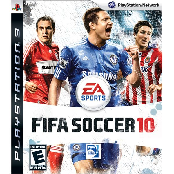 FIFA Soccer 10 cover