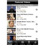 Truveo Video Search iPhone App