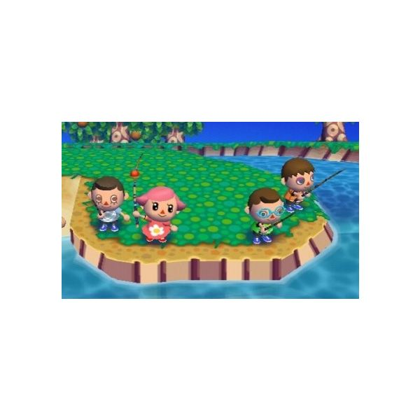 Animal Crossing City Folk Fishing