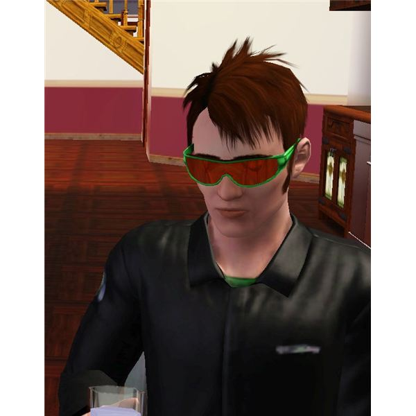 The Sims 3 Male Ghost Hunter