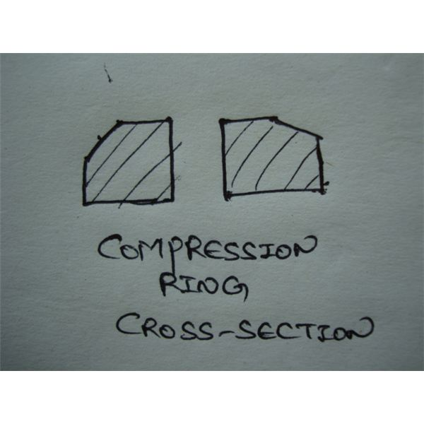 Compression Rings Cross-section