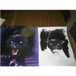 Acrylic Painting of panther