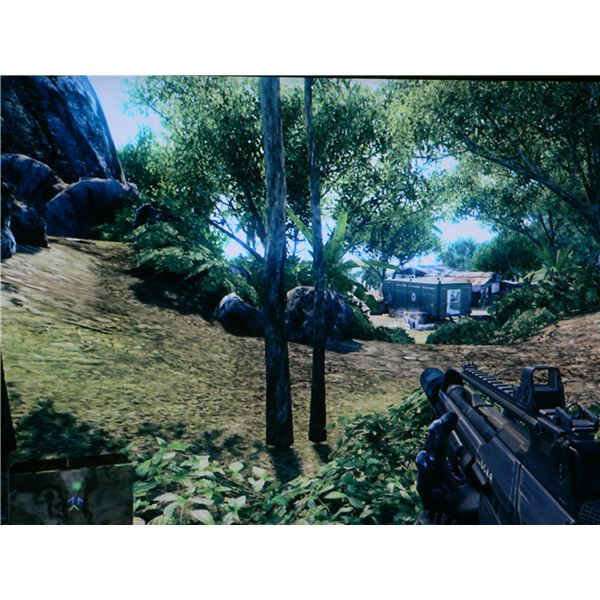 The trailer you need to head to at the start of the Recovery level in Crysis.