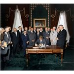 657px-President Kennedy signs Nuclear Test Ban Treaty, 07 October 1963