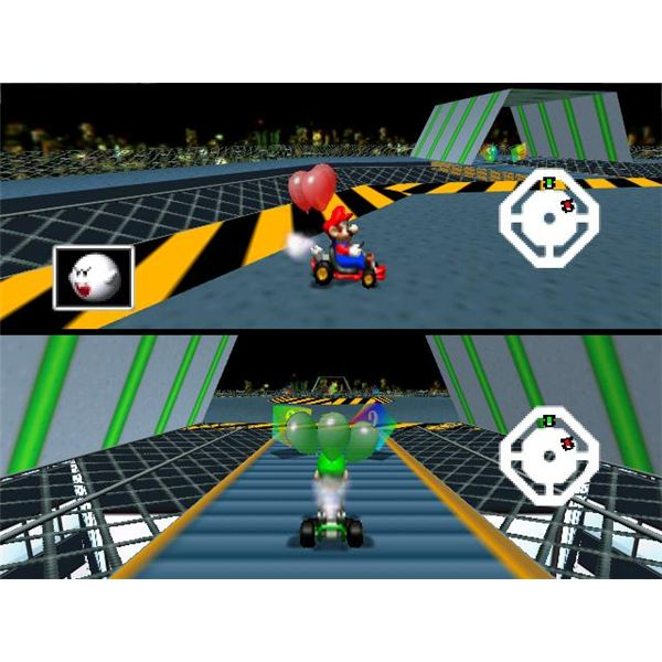 As a multiplayer game, Mario Kart 64 truly shines.