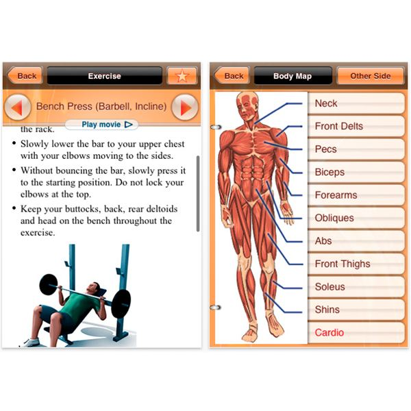 Bodybuilding Apps in iTunes - Exercise with your iPhone