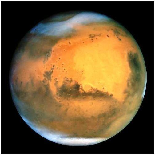 Mars' dichotomous surface