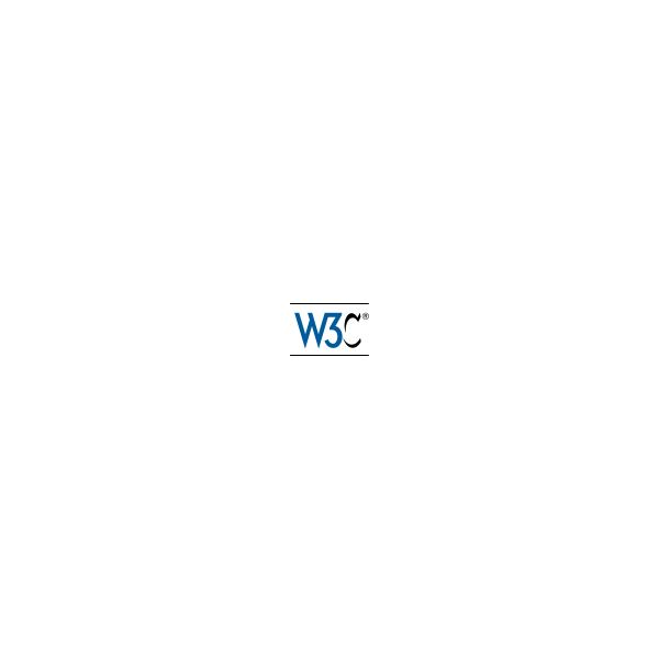 The logo of the W3C, which is linked to in this section