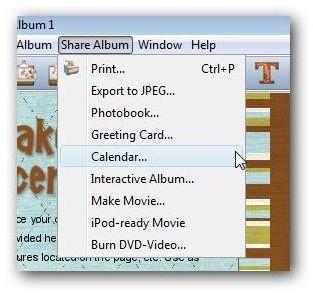 Export Options in My Memories Suite