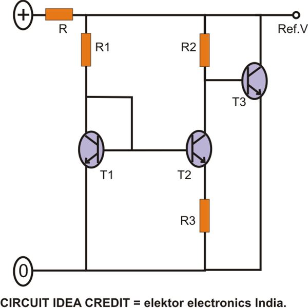 Circuit as Used in a Bandgap Reference IC, Image