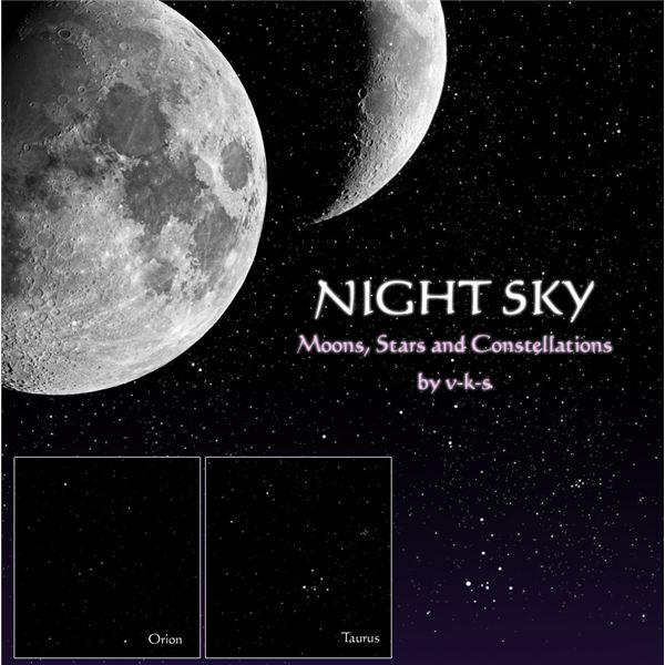 Night Sky Brushes by v k s