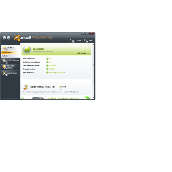 Avast Antivirus or Any Other Good AntiVirus Should Be Able to Remove Fake Virus Alerts