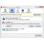 Firefox extensions can cause various compatibility issues